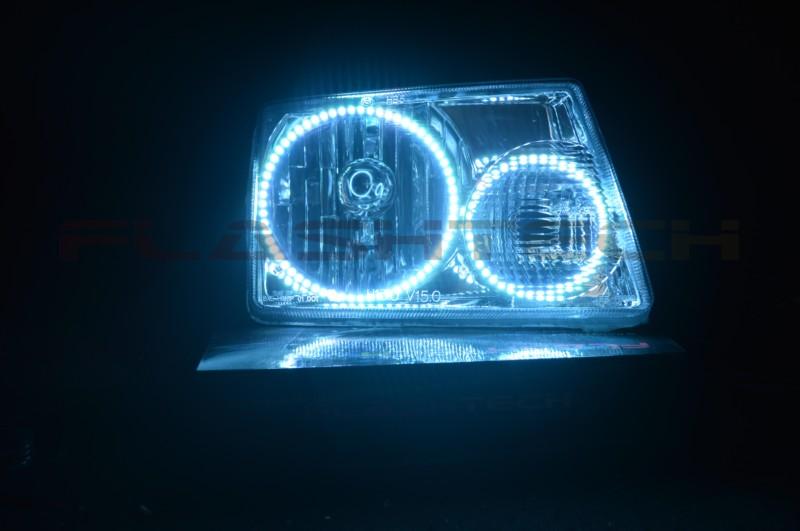 Ford Explorer 95-01 CHS Multi-Color LED Headlight Halo Ring Kit