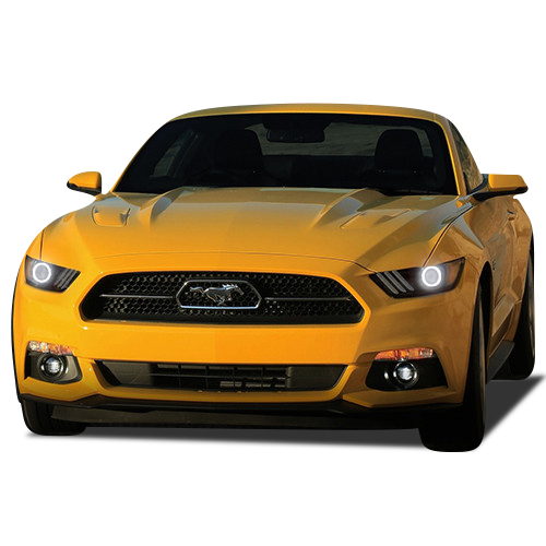 Ford Mustang 15 17 Chs Multi Color Led Headlight Halo Ring